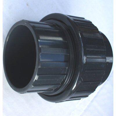 pvc verschraubung 50 mm klebemuffe beidseitig f r pvc rohr 50 mm zum kleben ebay