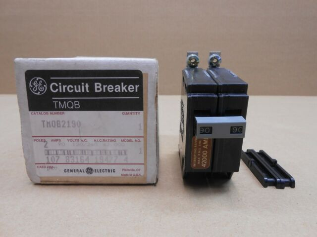 "THHQL21100 General Electric Circuit Breaker 2P 100A 240V 22KA /""2 YEAR WARRANTY/"""