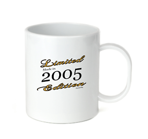 Details about  /Coffee Cup Mug Travel 11 15 Birthday Limited Edition Made Born In 2005