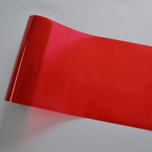 Clignotants etc. feux arrières Teinte Film rouge 100x30 CM pour phares