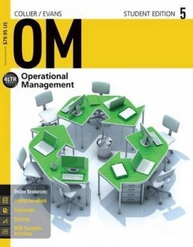 Om5 Operations Management textbook with access code