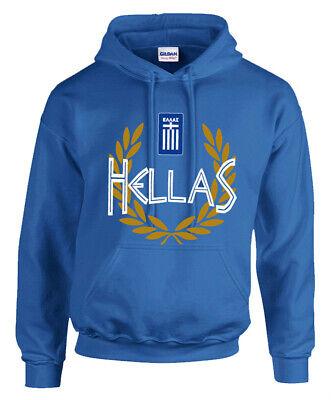 Hellas Hoodie Sweatshirt Greece Hooded Hellas Kapuzenpulli | eBay