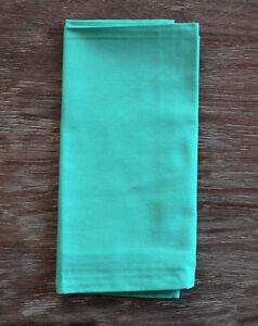 turquoise aqua green cotton dinner napkins set of 4 ebay