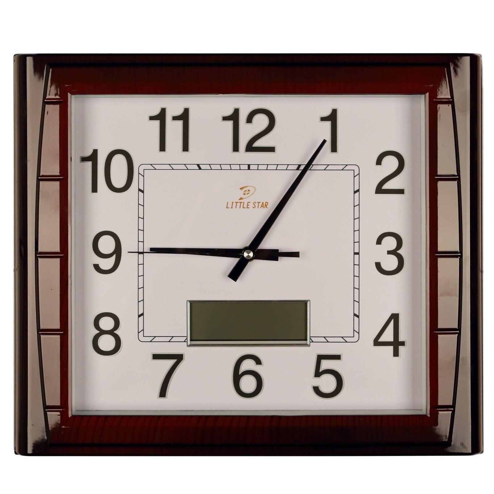 Wanduhr Wohnzimmer Wartezimmer Bürouhr Uhr digitale