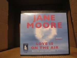 Jane-More-039-s-034-Love-is-on-the-Air-034-an-Audiobook-in-CD-Format-read-by-Julia-Barrie