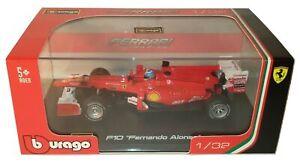 Bburago-Ferrari-Racing-1-32-F10-Fernando-Alonso-Diecast-Metal