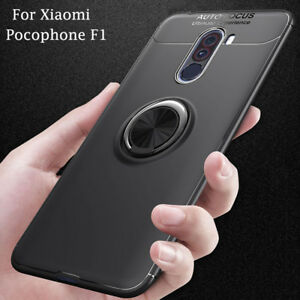 finest selection 87e5f 9dbf0 Details about Metal Ring Car GPS Holder Shockproof Case Cover For Xiaomi  Pocophone F1 Poco F1