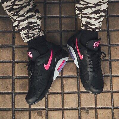 NIKE AIR MAX 180 BLACK PINK BLAST WOLF