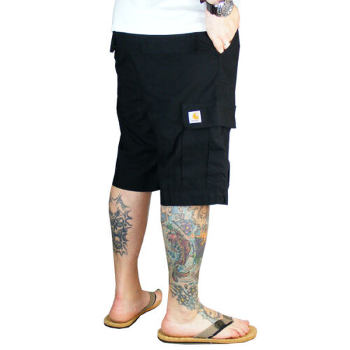 Regular Cargo Pantaloni da Festival Side da Shorts uomo taschino neri Carhartt Wip 5EIwq6p