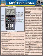 TI-83 Plus Calculator by Inc. BarCharts (2011, Book, Other)
