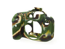 easyCover Silicone Skin Soft Case Cover Protector Canon 7D Mk II in Camouflage