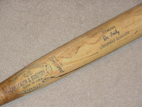 Ron Fairly H&B Game Used Bat Los Angeles Dodgers Expos