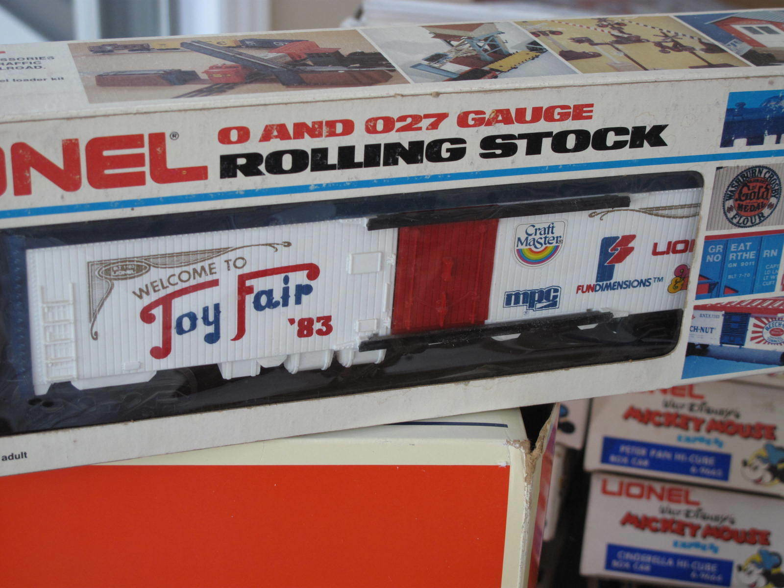 1983 Lionel 6-7521 Toy Fair Box Car L0917