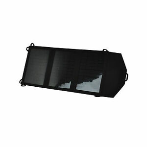 10watt  Folding Solar Panel Portable Battery Charger Dual USB Mercury10