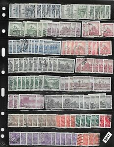 #5841   Bulk Lot 150+ stamps Third Reich era Germany Occupation / Postage WWII