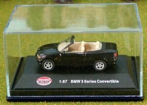Die-Cast-BMW-3-Series-Convertible-HO-Scale-1-87-by-Model-Power
