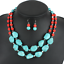 Fashion-Jewelry-Crystal-Choker-Chunky-Statement-Bib-Pendant-Women-Necklace-Chain thumbnail 64