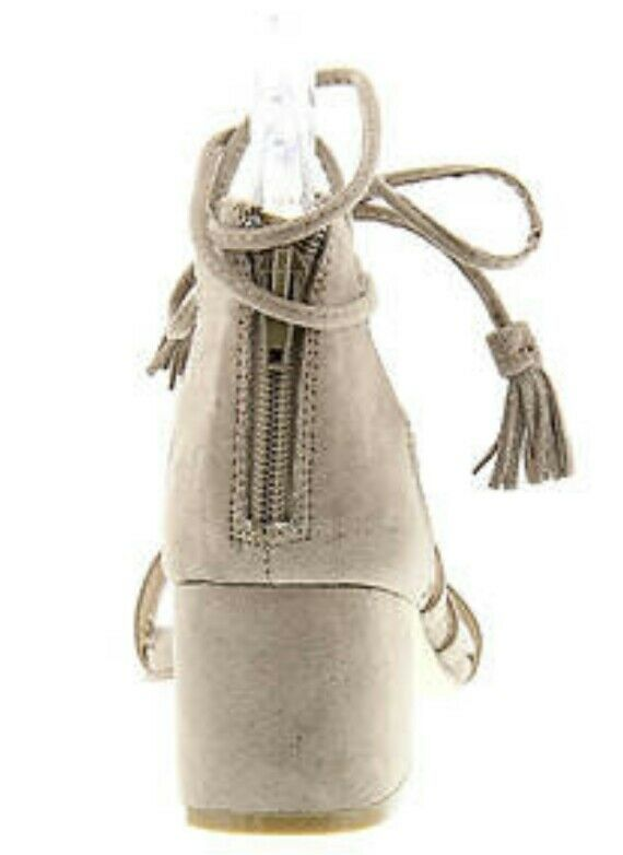 Madden Girl Loverrr Taupe Sandal Sandal Sandal Größe 8.5 EU 39.5 30e588