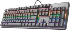 Artikelbild Trust GXT865 Asta Mechanische Tastatur DE QWERTZ beleuchtet Anti Ghost