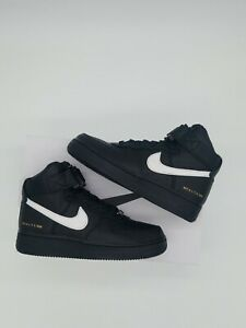 Details about Nike Air Force 1 High ALYX BLACK WHITE Size Men 9.5  CQ4018-002 New