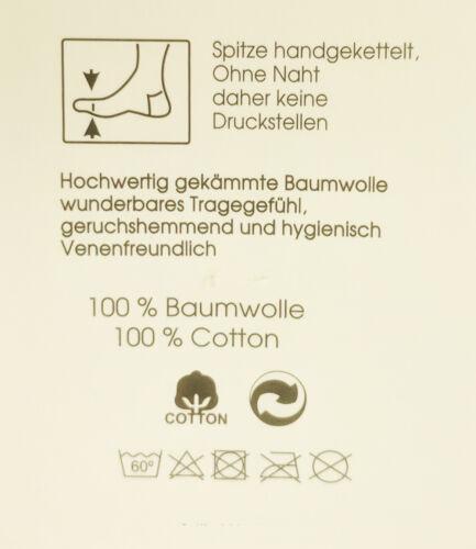Calzini ESTIVI IN BIANCO 100/% COTONE 10er Pack per uomo-vene amichevole