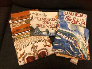 NEW Emma Bridgewater TEA TOWELS Crown Jewels, Under The Sea, Under The River