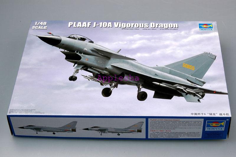 Trumpeter 02841 1 48 PLAAF J-10A Viggoldus Dragon