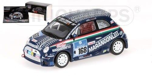 Minichamps 437081268 FIAT 500 – team LIQUI MOLY Engstler - 24h NURBURGRING - 1:43
