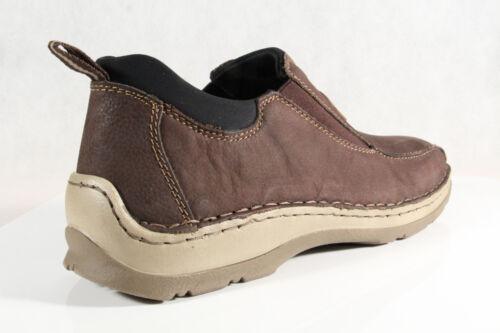 Basse Scarpe Sneakers Rieker Nuova Morbida Marrone Slipper q60wwAT