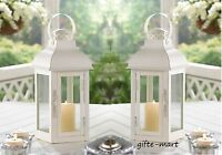 10 Matte White 13 Candle Holder Lantern Lamp Light Wedding Table Centerpiece L