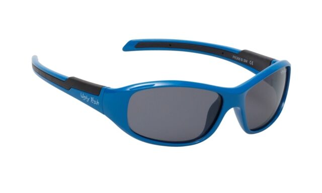 650894b869 Ugly Fish Polarised Sunglasses Pk366 Kids Blue Frame Smoke Polarized Lens  for sale online