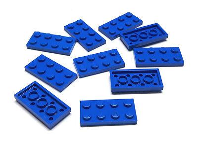 LEGO 30 x Basisplatte 2x4 blau blue basic plate 3020 302023
