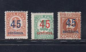 ESPANA-1938-SERIE-COMPLETA-EDIFIL-742-44-SELLOS-NUEVOS-SIN-FIJASELLOS-MNH-LOTE1