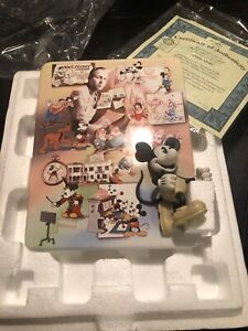Bradford-Exchange-Walt-Disney-100-Year-Anniversary-Plate-Mickey-1920-1940-C1