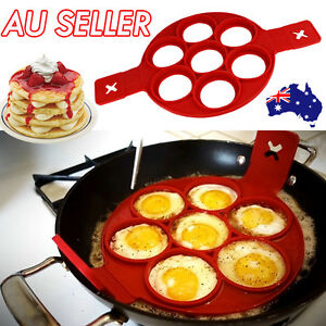 Silicone Non Stick Pancake Pan Breakfast Maker Egg Omelette Tool Mould