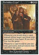 4X Forbidden Crypt - LP - Classic 6th Edition MTG Magic Cards Black Rare