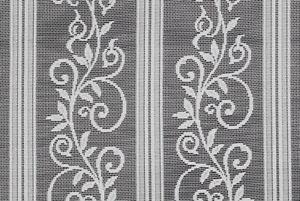 Scheibengardine Blumen Bistrogardine Gardine Panneaux Küche 45 hoch
