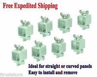 Pack 8 Butt Welding Seam Mini Clamps Sheet Metal Steel Gap Spacing Spacer Edge