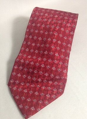Ermenegildo Zegna Red Men's Tie