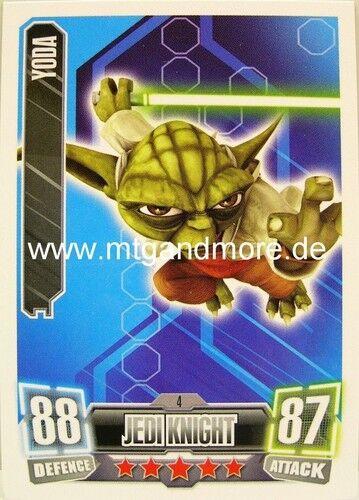 Yoda #004 Force Attax série 2