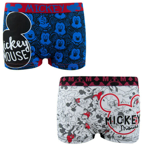 92-128 2er Boxer Set-caleçon-short Disney Mickey Mouse