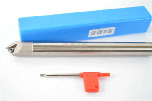 45° 0-20mm cnc Chamfering drill tool holder SSP C20-20-200 for TCMT16T302//04//08