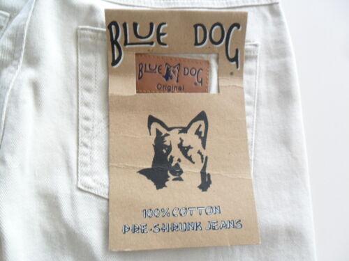 BLUE DOG MENS BEIGE DENIM JEANS 100/% COTTON TWILL LONG SIZE 30 32 33 42