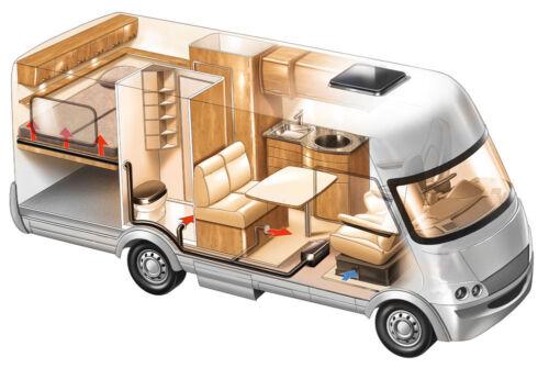 Medium Size Quality Elasticated Storage Nets Rally Car//Map //VW T5  Motorhome