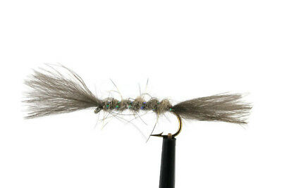 Trout Flies Brown Roofwing Sedges Classic Dry Flies Stillwater River