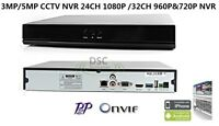 24 Channel Security Cctv Nvr Support 1080p Ip Camera, P2p, Hdmi, With 4tb Hdd