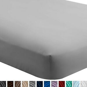 Fitted-Bed-Sheet-Double-Brushed-Ultra-Soft-Luxury-Wrinkle-Resistant