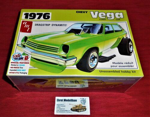 1976 Chevy Vega Funny Car Dragstrip Dynamite 1:25 AMT AMT1156 Model Kit Bausatz