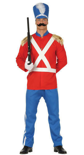 Soldat Déguisement Jouet Casse adultes uniforme militaire Noël Costume