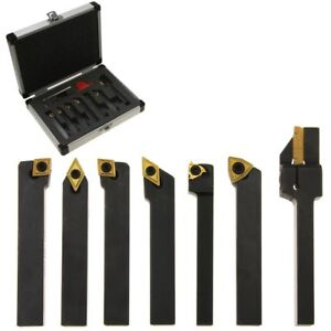 "5-Piece 3//4/"" Indexable Carbide Tool Bit Sets C6 With 10pcs more inserts"
